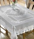 Monica - Tablecloths - Square (White)