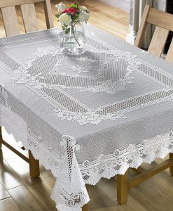 Monica - Tablecloths - Square (White)