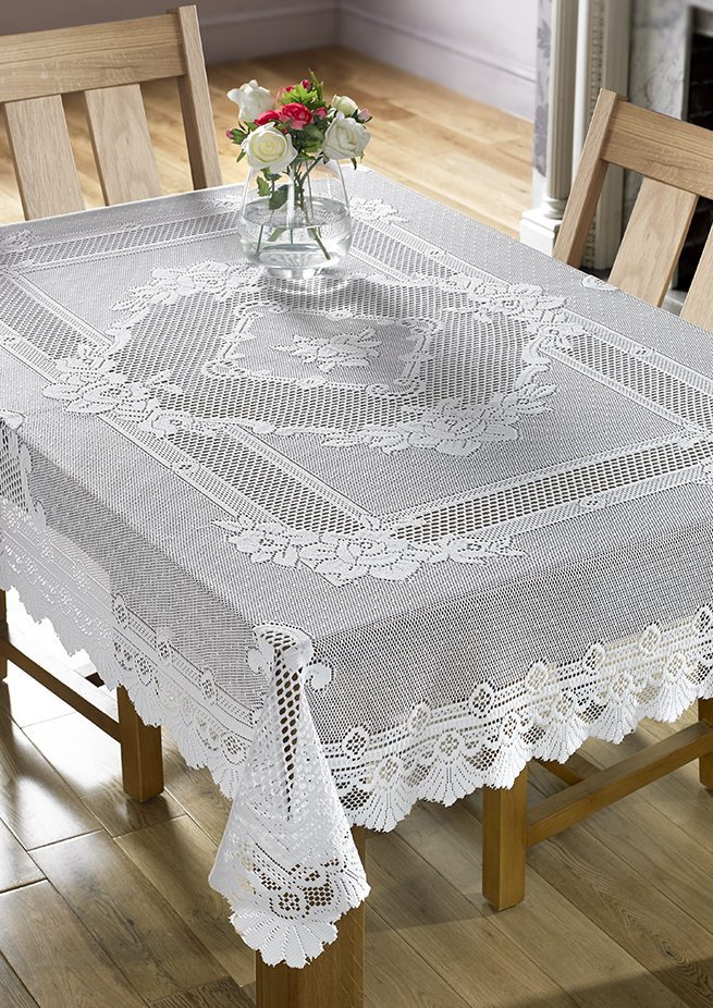 White Lace 54 Quot X72 Quot Rectangle Tablecloth Dublin Ireland