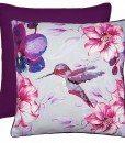 Hummingbird - Filled Cushions - Purple