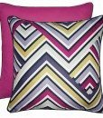 ZigZag - Filled Cushions - Berry