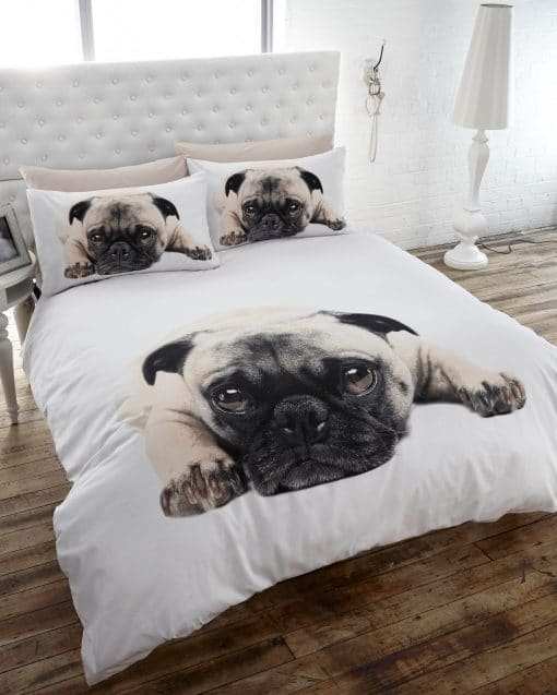 Thru the lens - Duvet Set - Pug