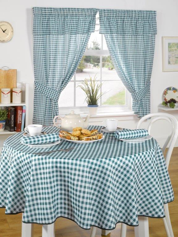 Molly Green Kitchen Curtains Ready Made