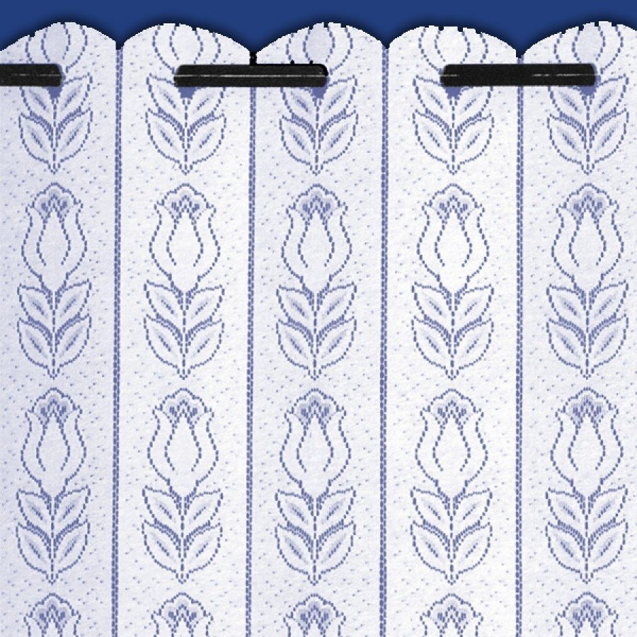 Tulip White Louvre Blind Net Curtains Duffy S Curtains