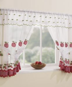 Winchester Red - Window Tie Back Set