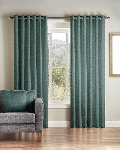 Montgomery Addo Teal Curtains