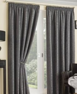 Balmoral Grey Readymade Curtains
