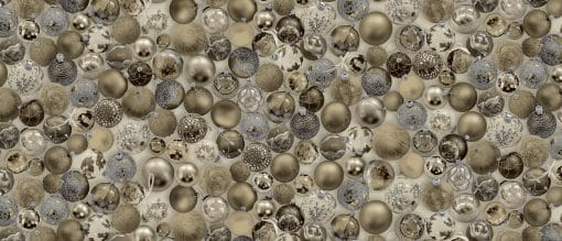 Baubles Gold Oil Cloth