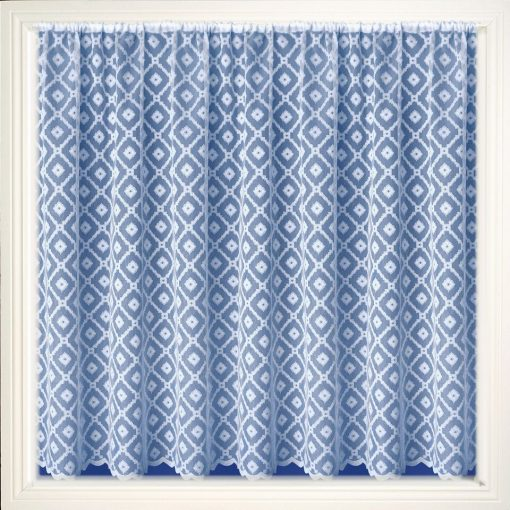 Cuba White Net Curtains