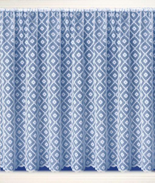 Cuba White Net Curtains