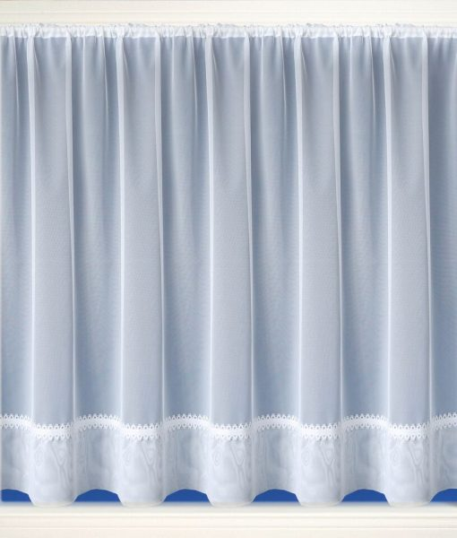 Hollywood White Net Curtains