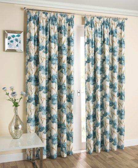 Henley - Blue Readymade Curtains