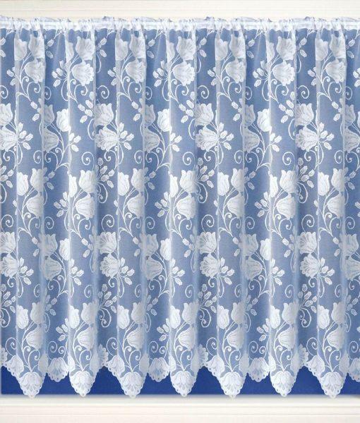 Lyon White Net Curtains