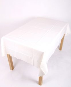 Shell Cream Tablecloth