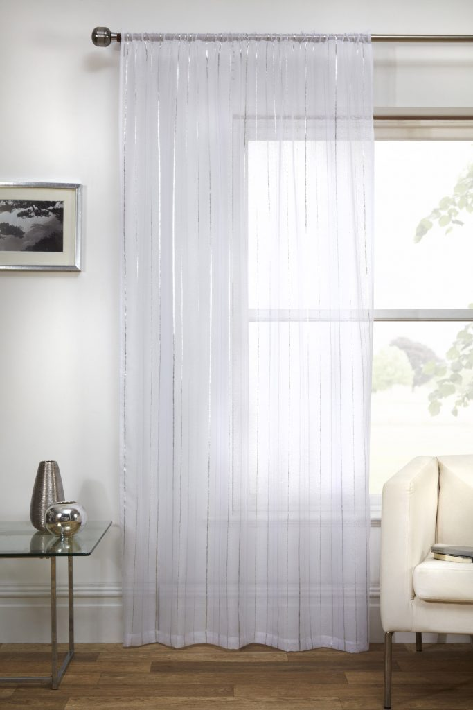 Marrakesh White Voile Curtains Duffy S Curtains