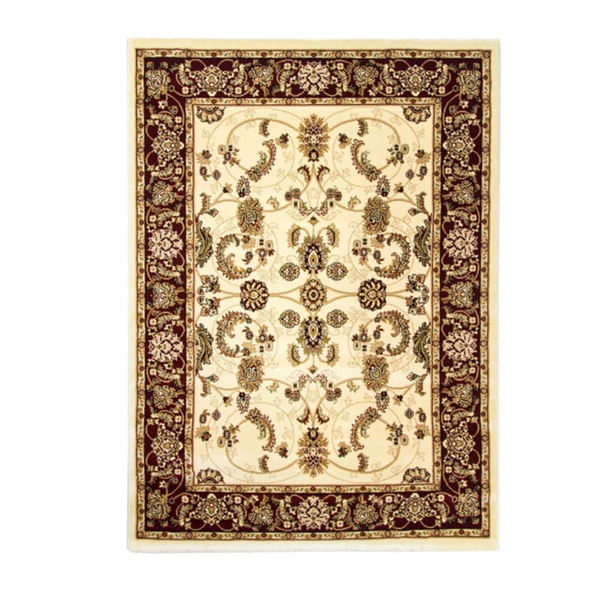 Cotswold Traditional Rug Cream Red 2412 Rugs