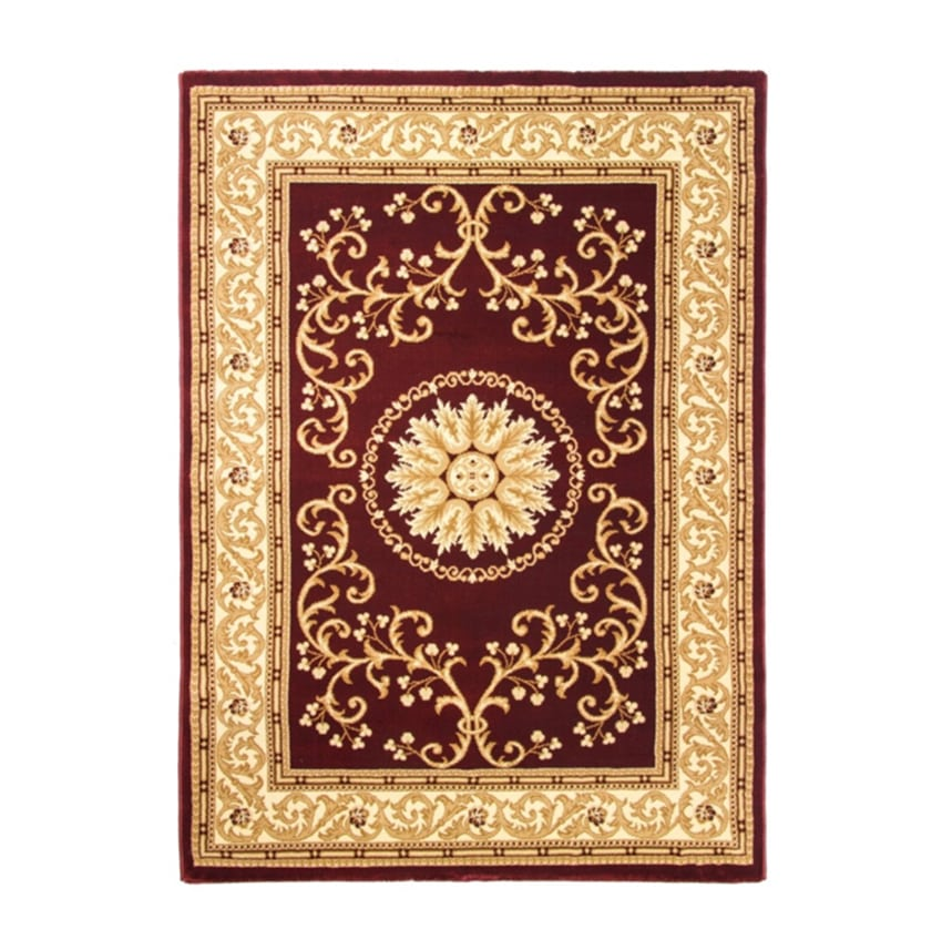 Cotswold Traditional Rug Red Cream 7519 Rugs